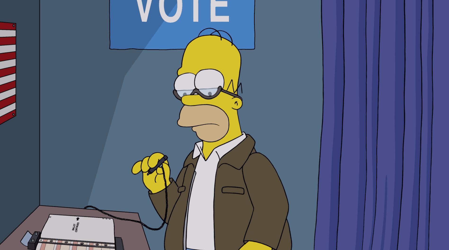 I Simpson: nella puntata di Halloween si parla di Donald Trump