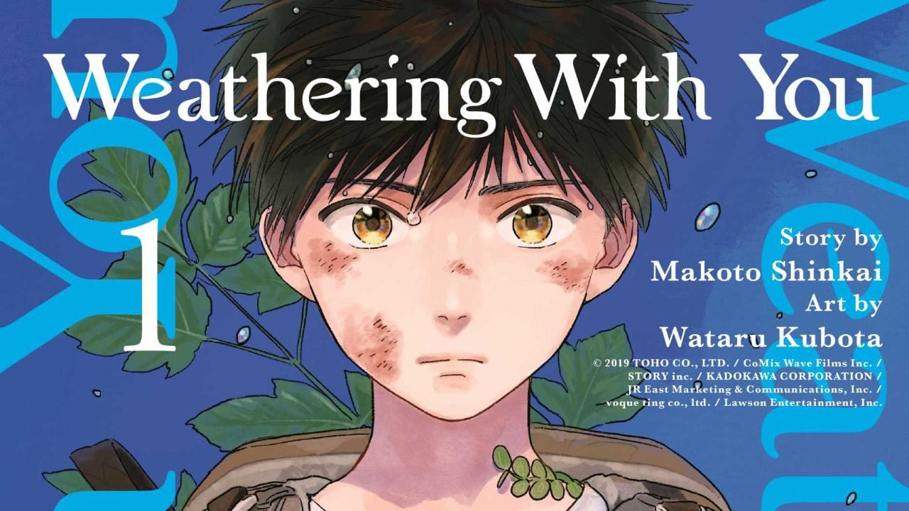 Weathering With You makoto shinkai