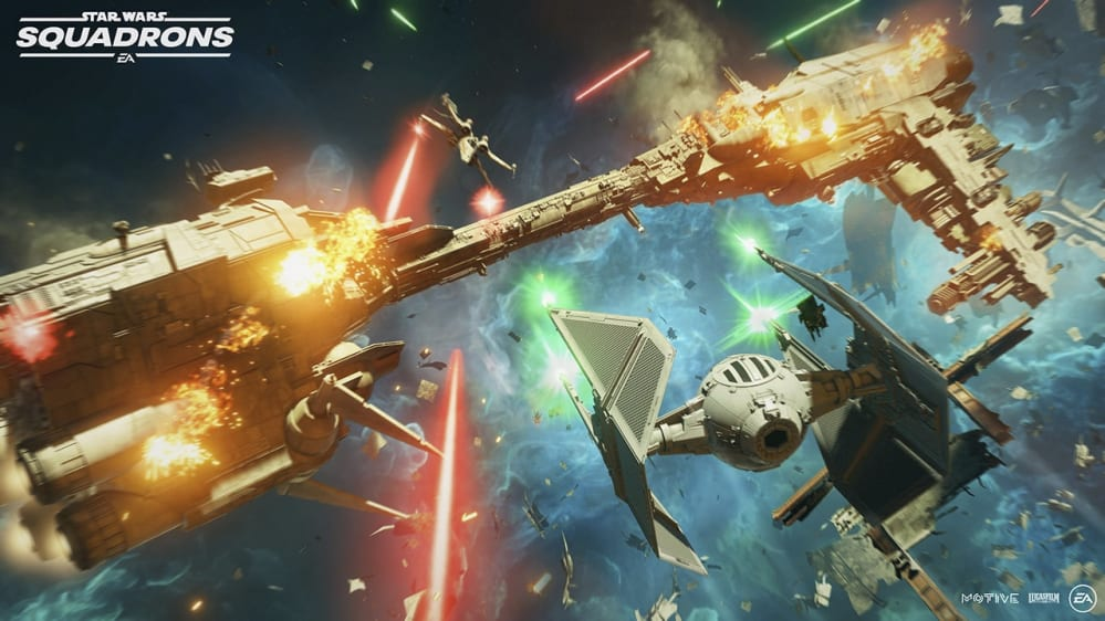 Star Wars: Squadrons Dogfight
