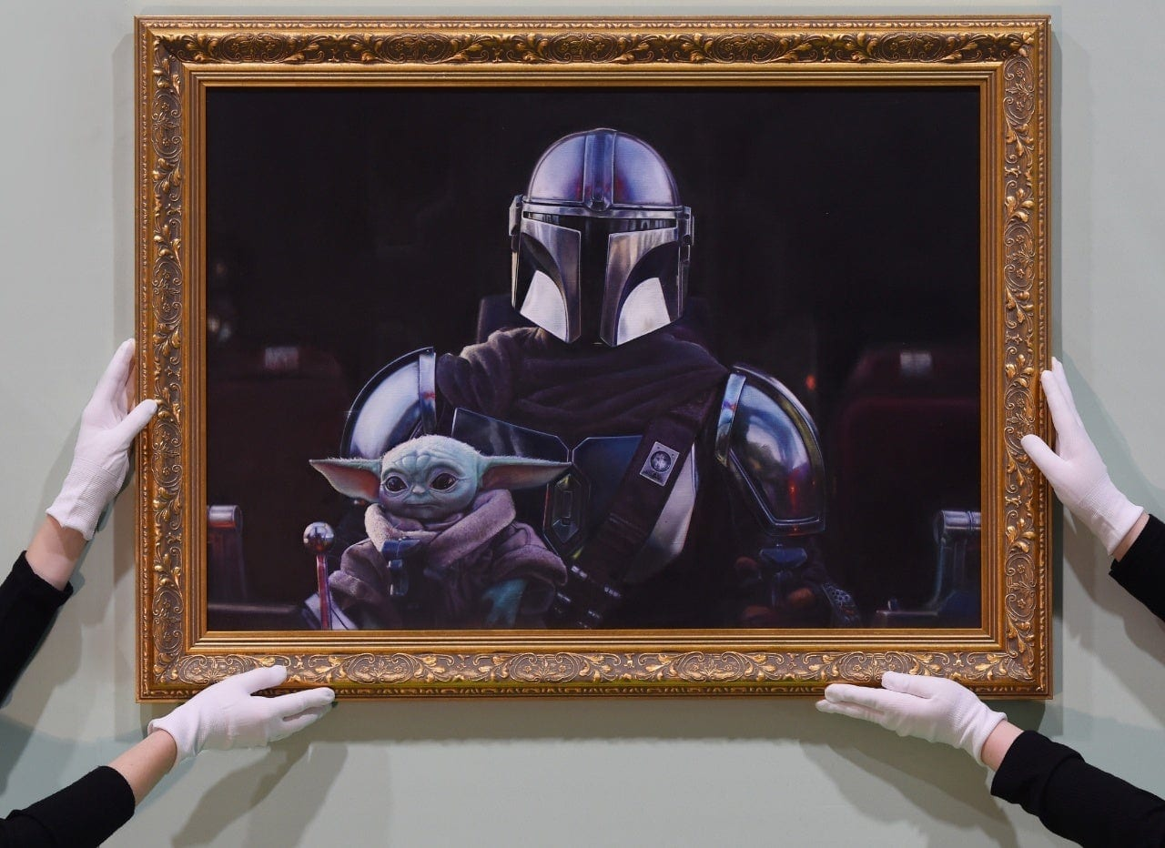 The Mandalorian, la National Portrait Gallery di Londra omaggia la serie