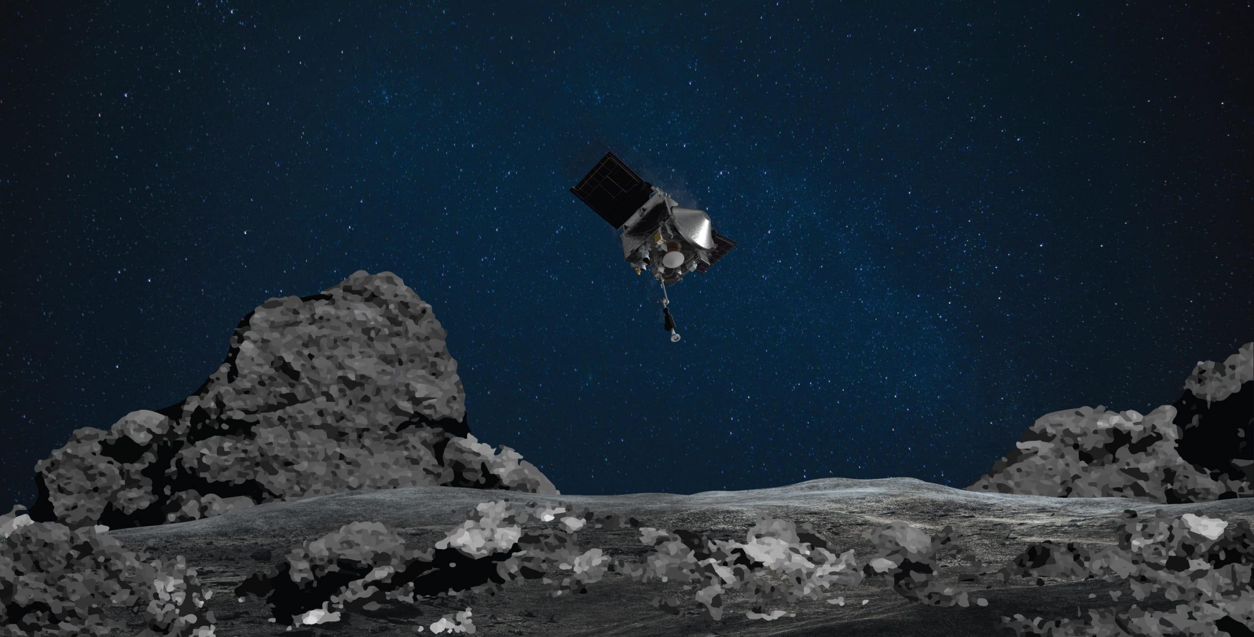 La NASA prenderà un campione d'asteroide: ecco dove guardarlo in diretta
