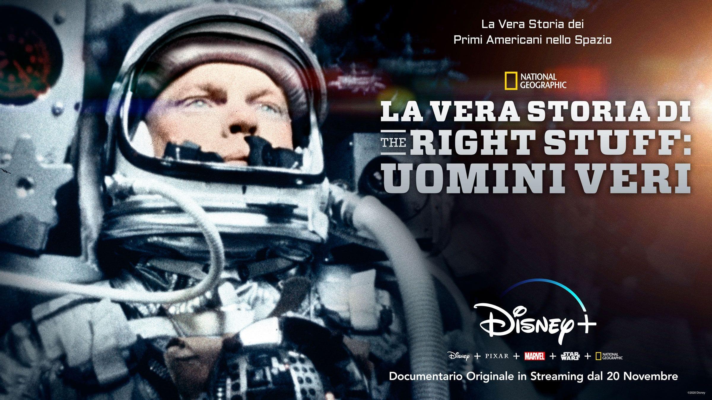 The Right Stuff: la vera storia - Il documentario dal 20 novembre su Disney+