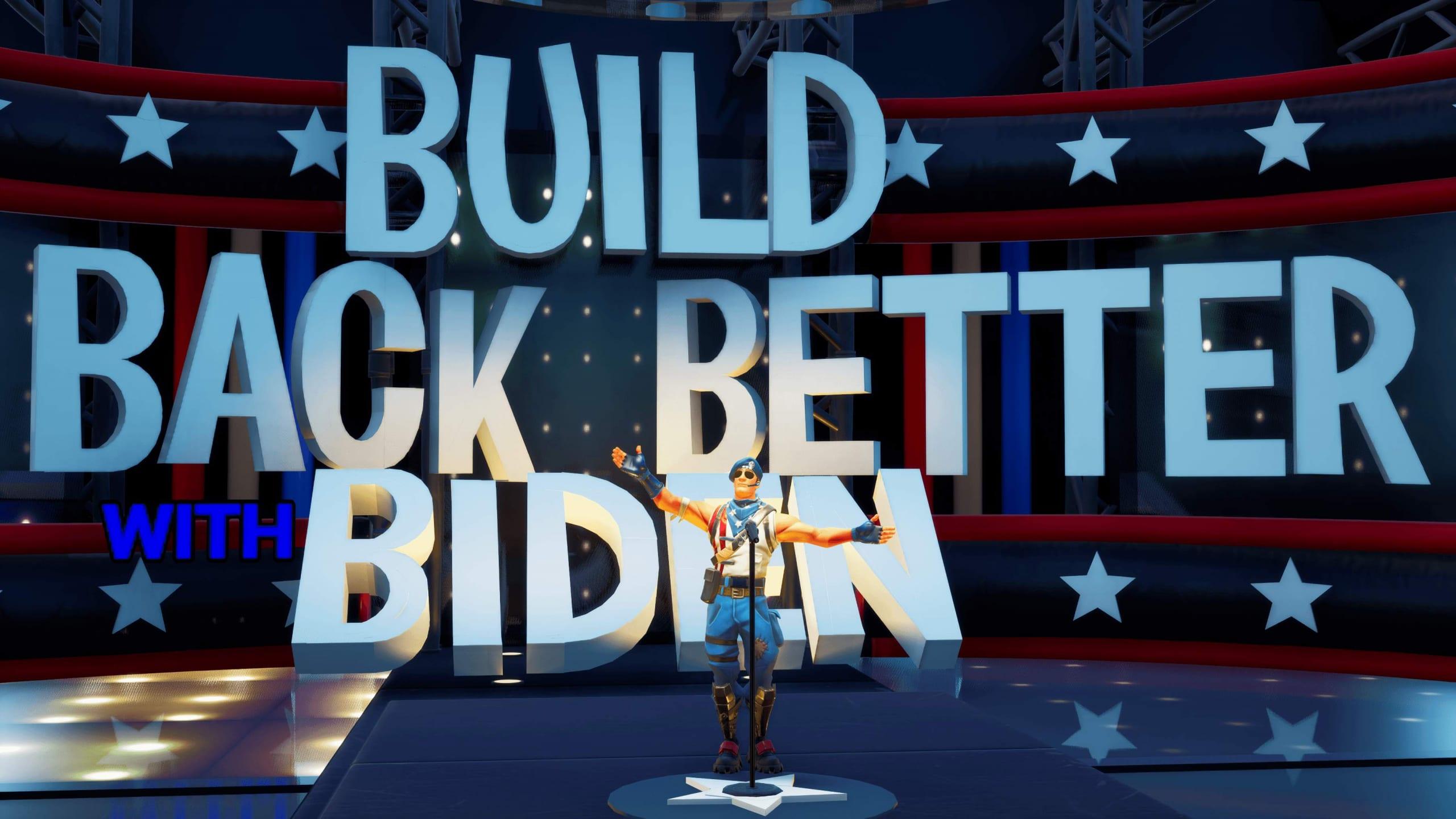 Le elezioni USA 2020 si giocano anche su Fortnite