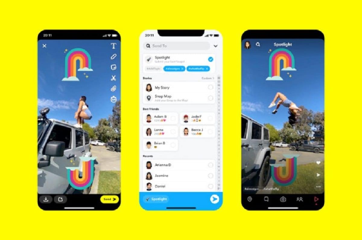 Snapchat investe 1 milione al giorno per sfidare TikTok