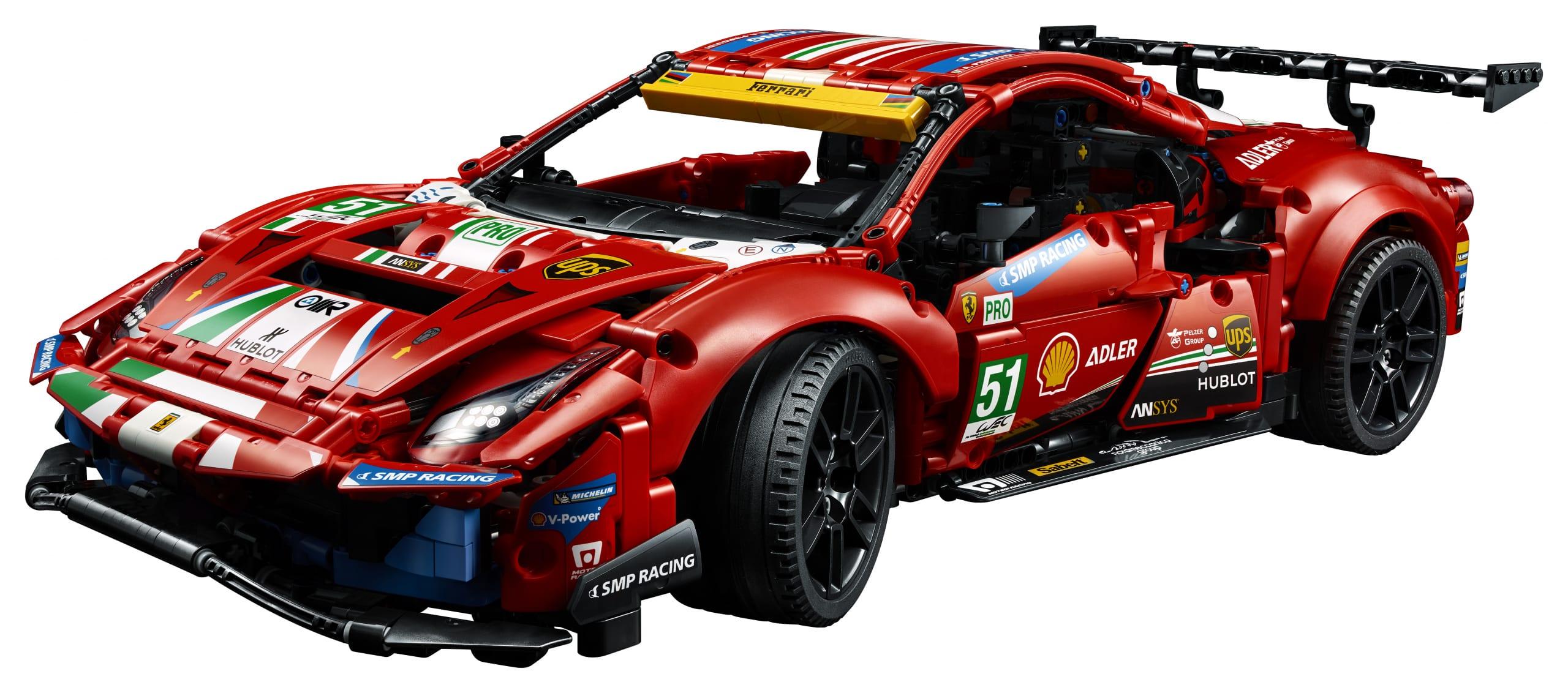 LEGO Ferrari 488 GTE