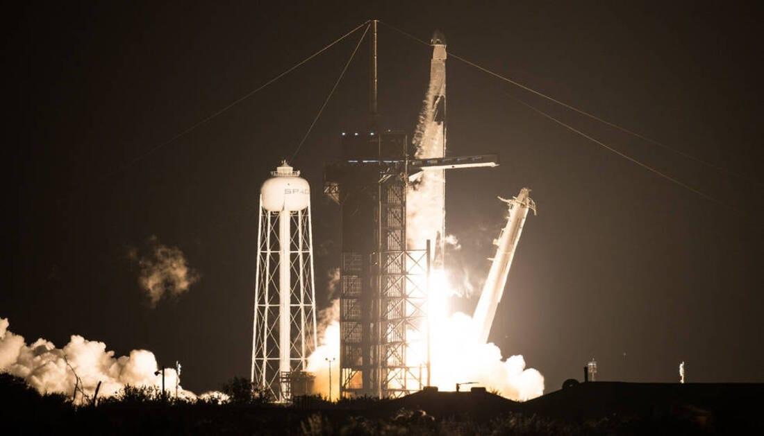 Liftoff riuscito: la Crew-1 è in viaggio verso la Stazione Spaziale Internazionale