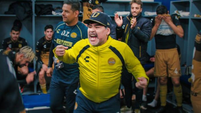 Maradona in Messico