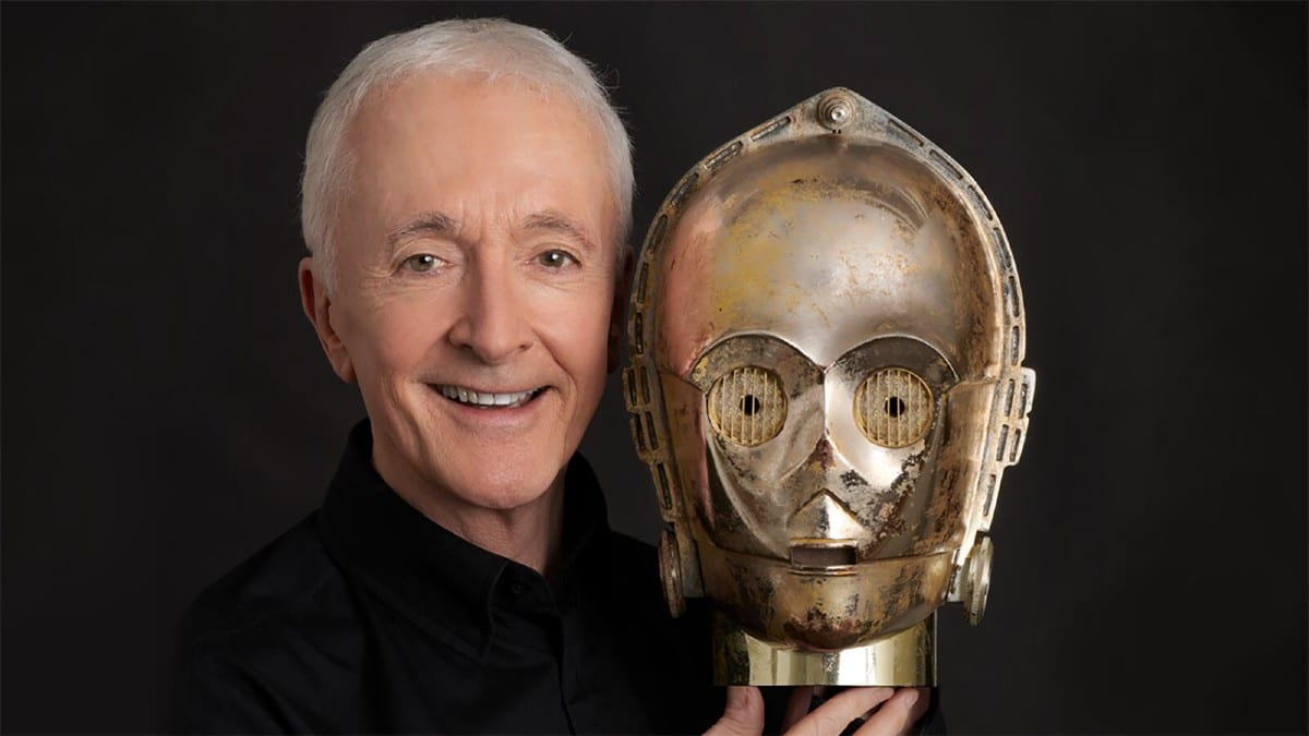 Star Wars: Anthony Daniels non intende abbandonare dal franchise