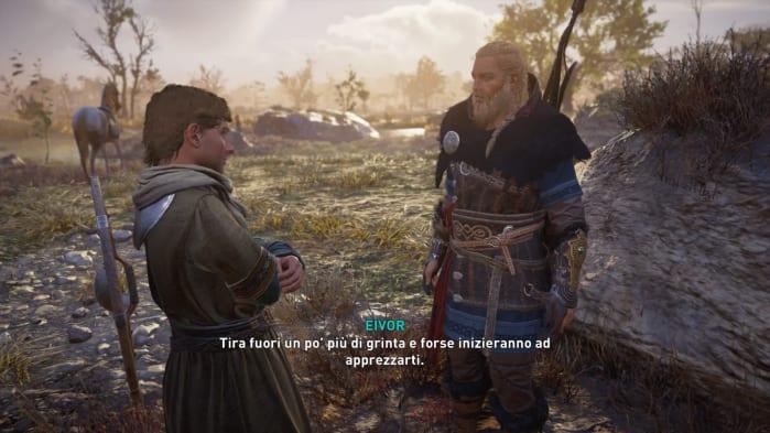Assassin's Creed Valhalla Recensione Dialoghi