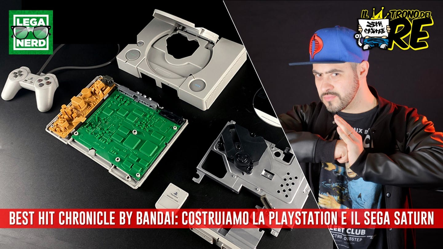 Il Trono del Re: costruire la Playstation di Best Hit Chronicle by Bandai