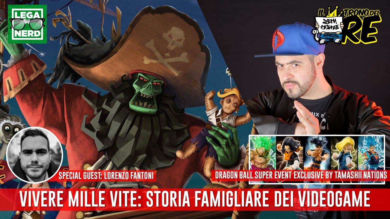 Il Trono Del Re: Vivere Mille Vite con Lorenzo Fantoni