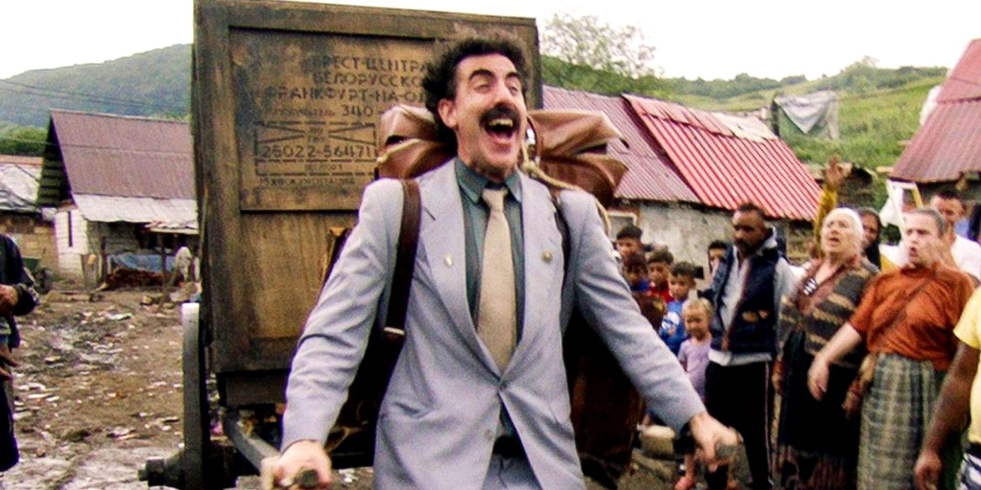 Borat 2: petizioni del gruppo kazako-americano per bandirlo dagli Oscar