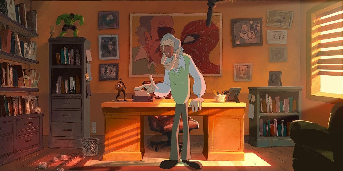 Stan Lee protagonista di un nuovo sorprendente video di animazione