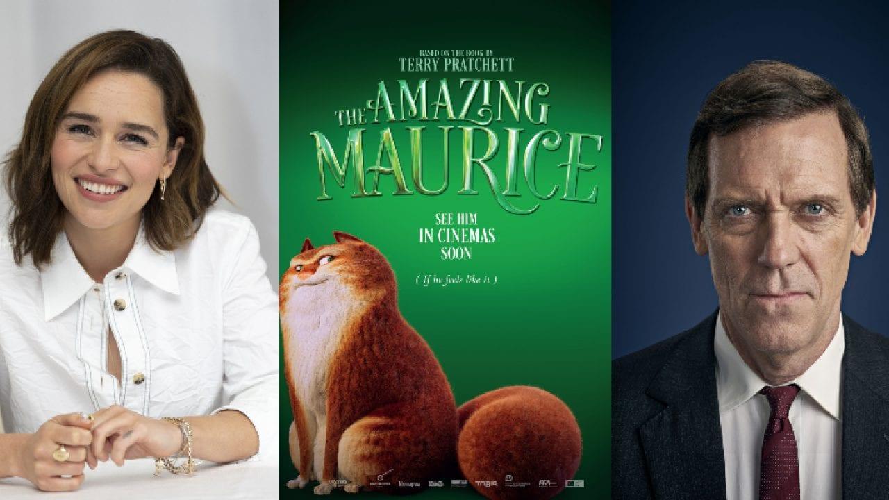 The Amazing Maurice: Hugh Laurie e Emilia Clarke nel cast delle voci