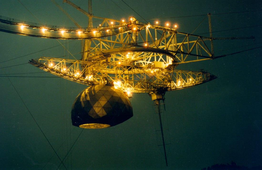 Arecibo: il radiotelescopio è stato dichiarato perduto