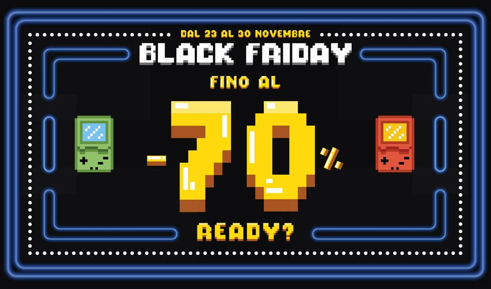 Black Friday GameStop, ecco le migliori offerte in corso
