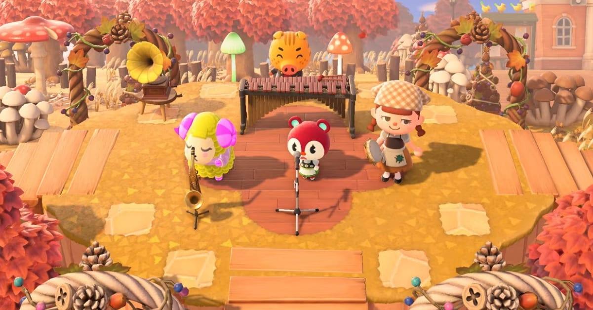 Animal Crossing: New Horizons, il trailer dell'aggiornamento autunnale