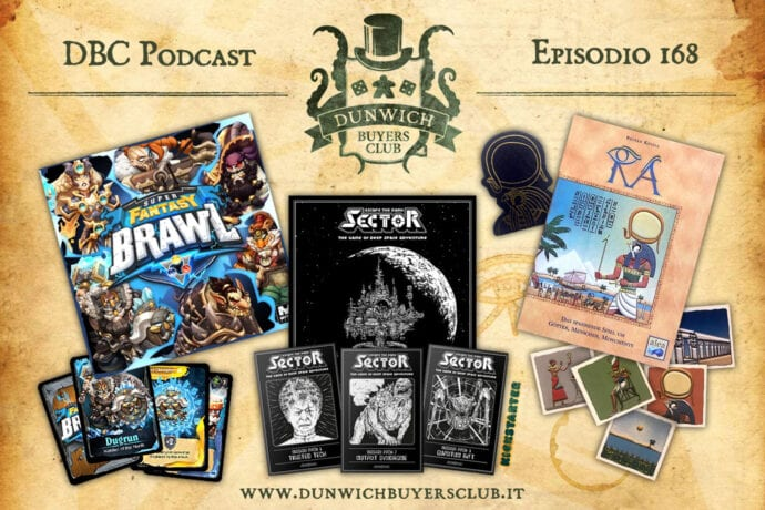 DBC 168 – Super Fantasy Brawl, Escape the Dark Sector, Ra