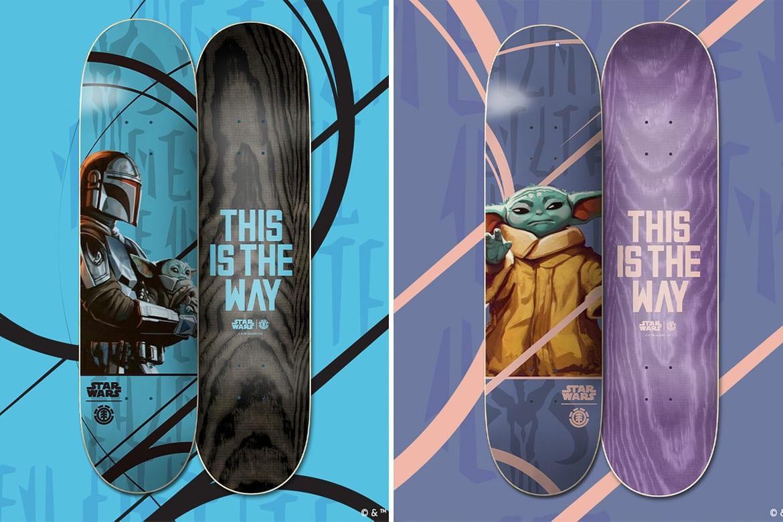 Star Wars x Element: la collezione dedicata a The Mandalorian