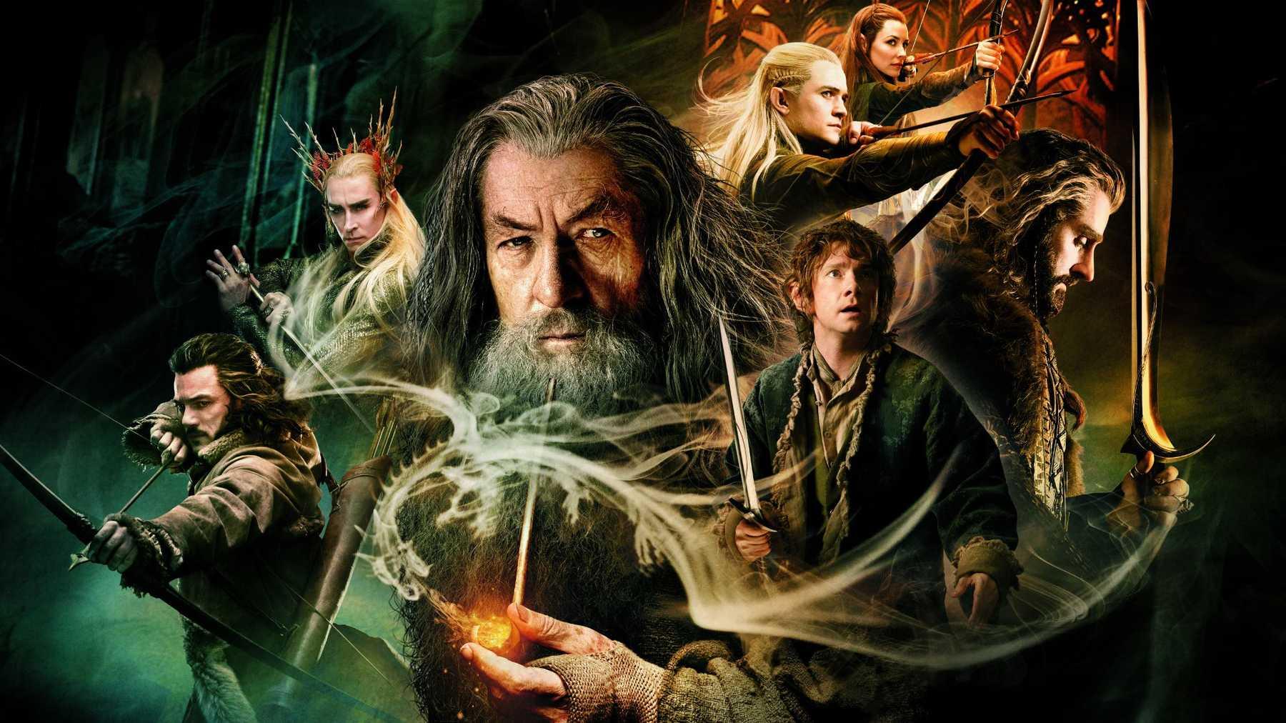 I film della saga de Lo Hobbit arrivano su HBO Max