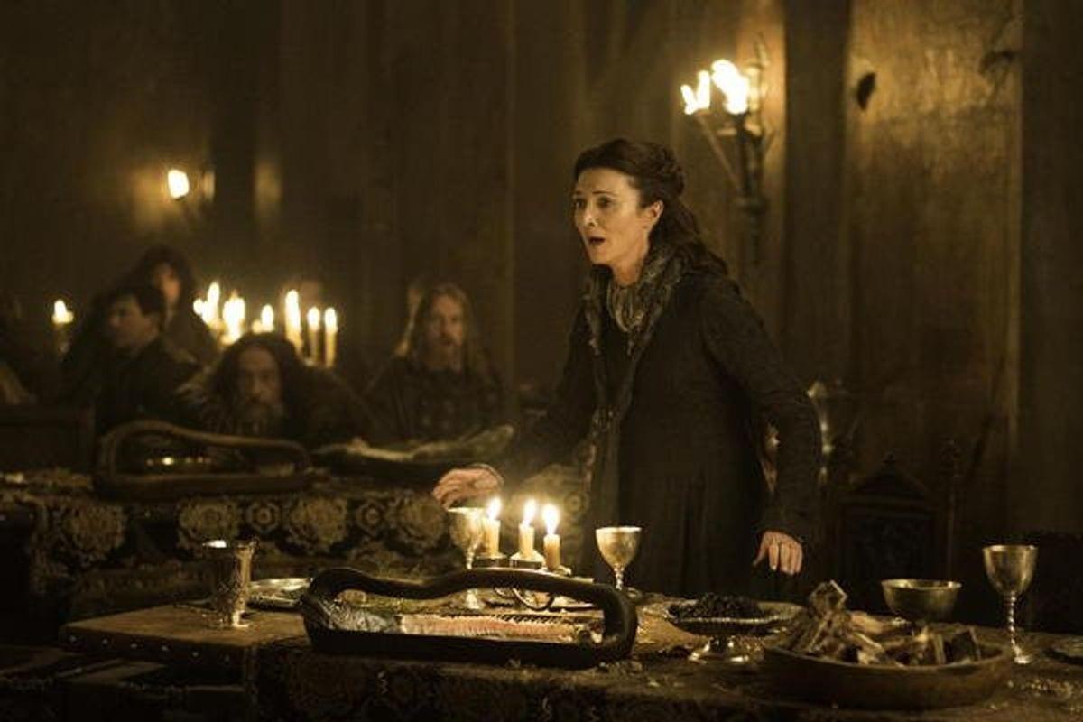 game-of-thrones, nozze sangue, Michelle Fairley