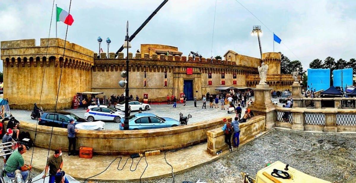 Red Notice, ecco la ricostruzione di Castel Sant'Angelo