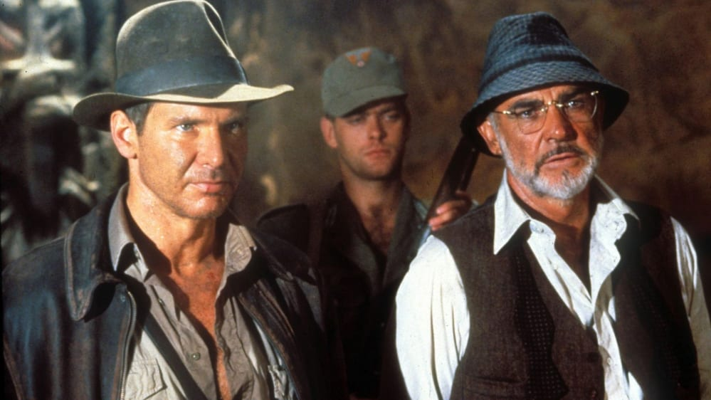 Sean Connery, Harrison Ford, Indiana Jones 3