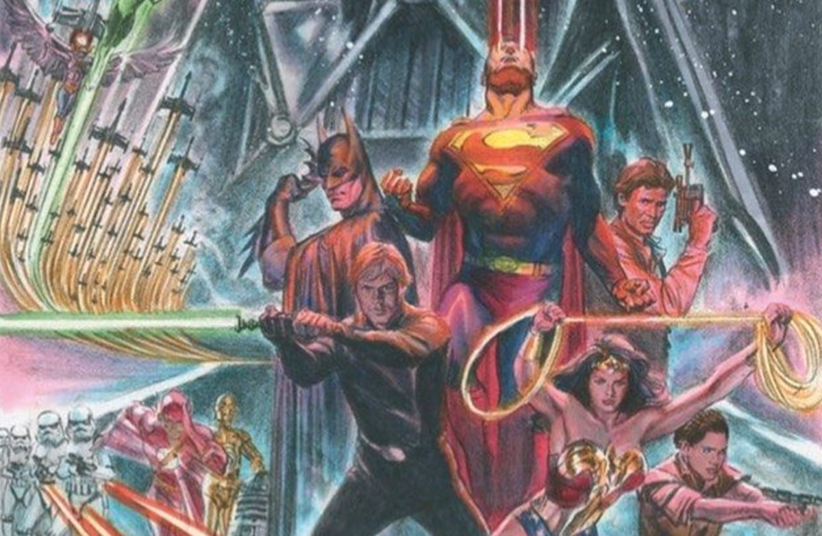 Star Wars incontra la Justice League grazie ad Alex Ross