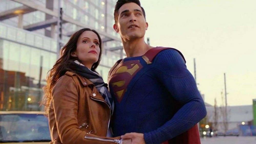 foto dal set di Superman & Lois