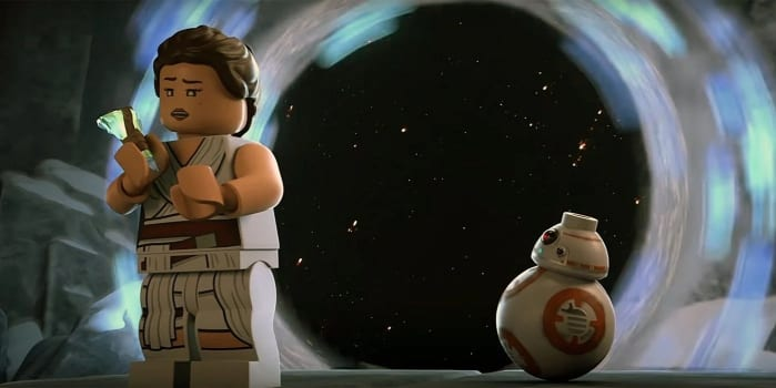 LEGO Star Wars - Christmas Special Recensione ray bb8
