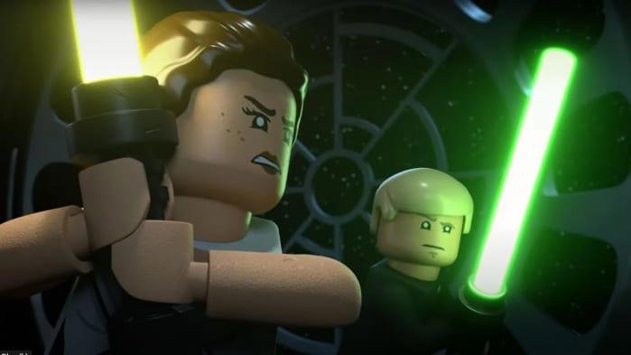 Luke Rey LEGO Star Wars Christmas Special