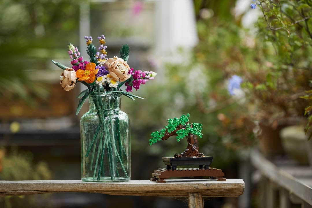 LEGO Bonsai e Flower bouquet