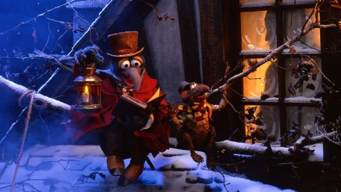Festa in casa Muppet, Canto di Natale cinema TV