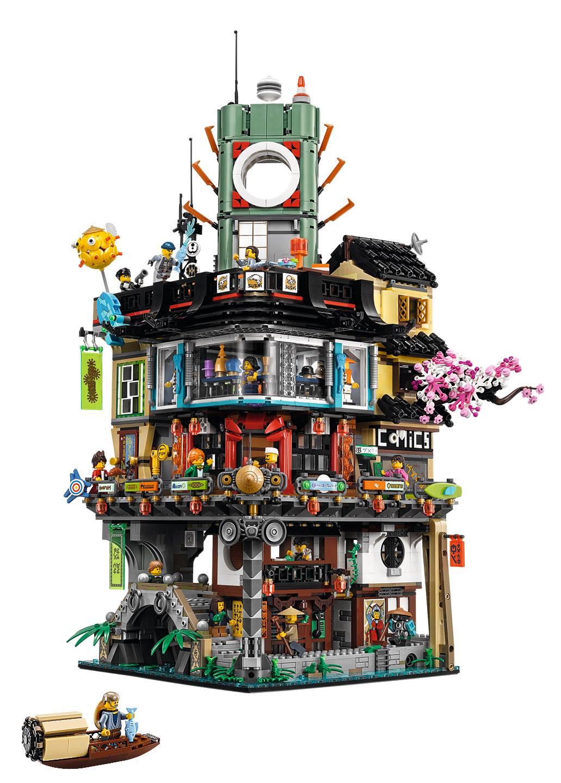 LEGO Ninjago City Gardens, prime immagini del set 71741 in ...