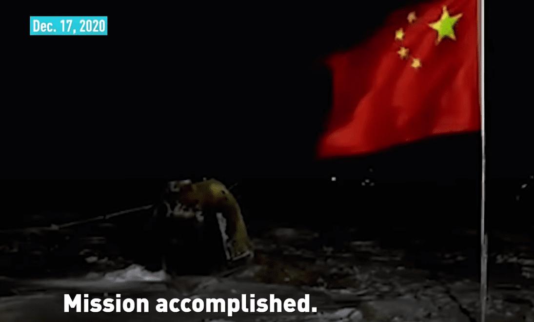 Chang'e 5: i campioni lunari sono arrivati sulla Terra