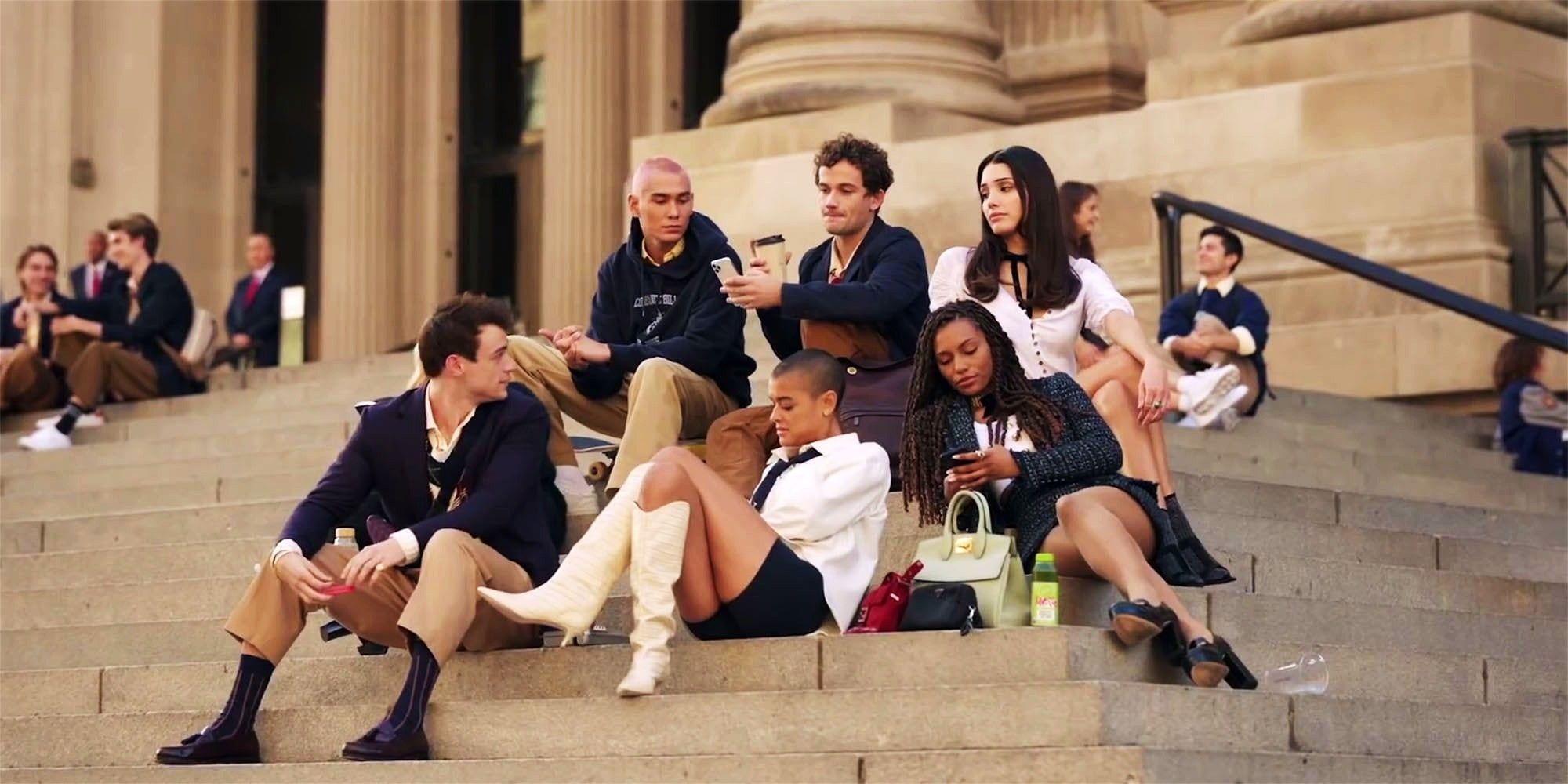 Gossip Girl: il reboot della serie rivela il primo sguardo ufficiale
