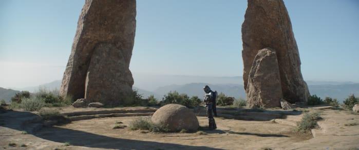 The Mandalorian 2 seeing stone