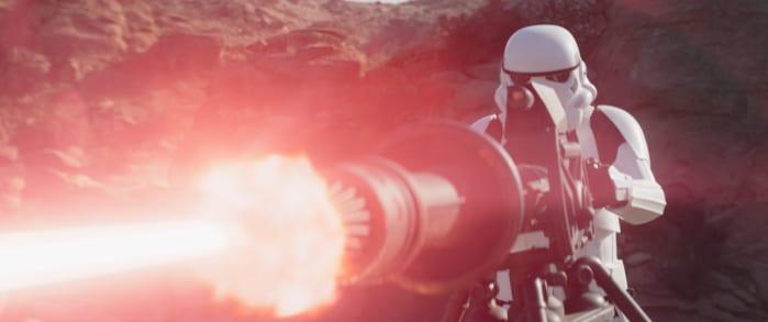 The Mandalorian 2 recensione sesto episodio mitragliatrice stormtrooper