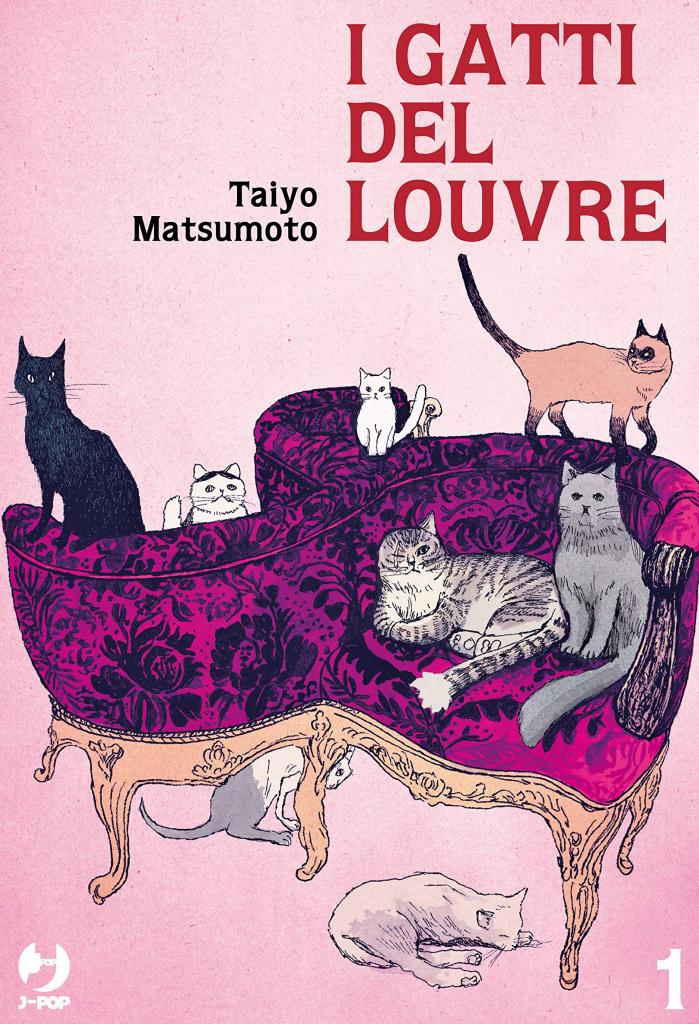 top 10 graphic novel straniere 2020 - I GATTI DEL LOUVRE