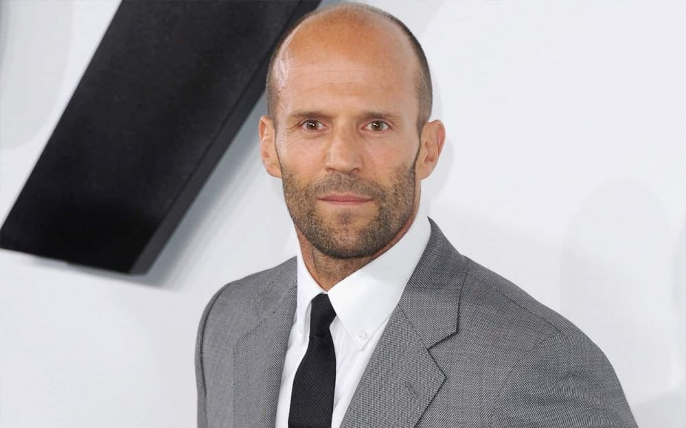 Jason Statham Small Dark Look