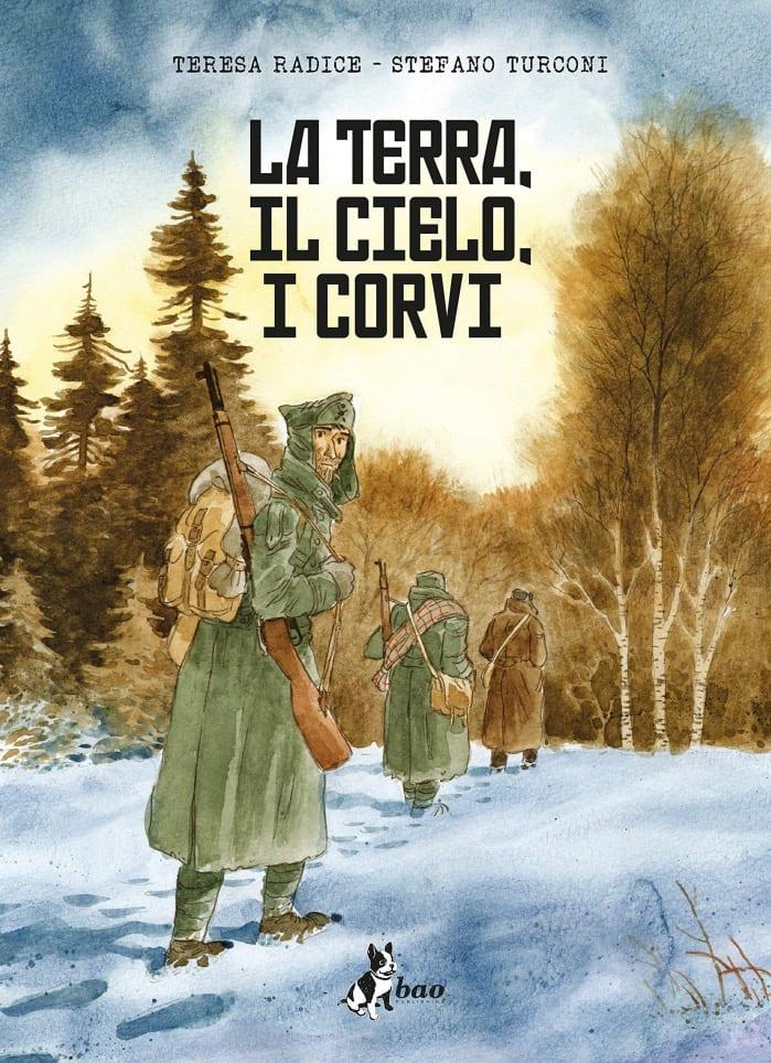 TOP 10 FUMETTI ITALIANI - LA TERRA IL CIELO I CORVI