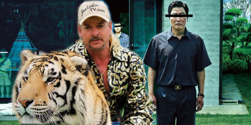Parasite e Tiger King