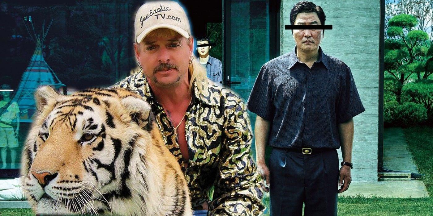 Parasite e Tiger King sono il film e la serie TV più cercati del 2020