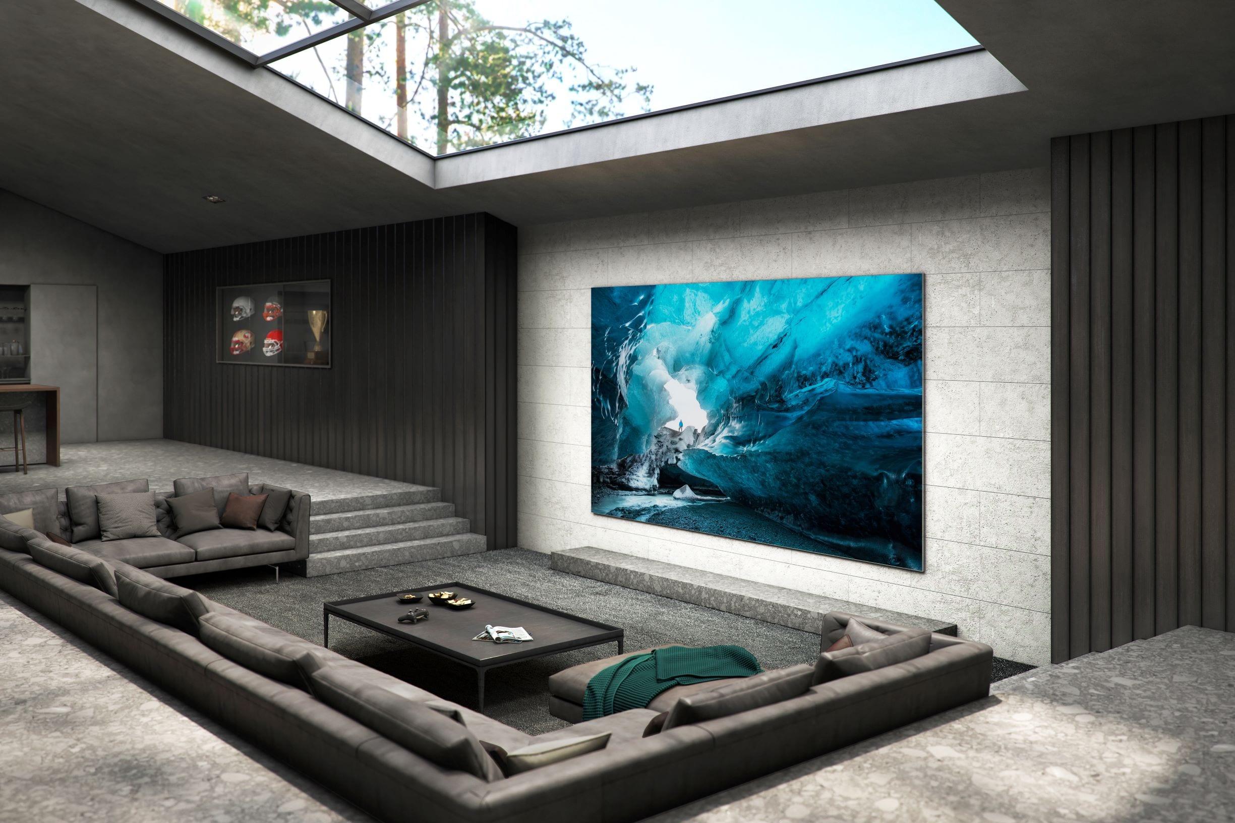 Samsung TV MicroLED 110 pollici per il mercato consumer, ma costa 130 mila euro