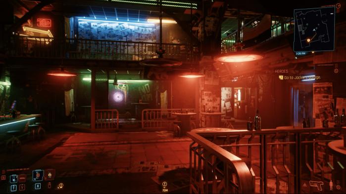 Cyberbunk 2077 Mama Welles Bar Stadia