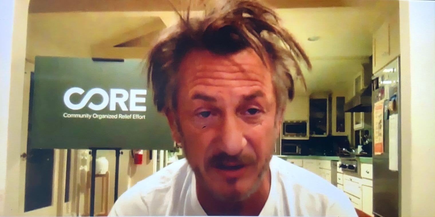 Sean Penn: un attivista simbolo della vita casalinga nel 2020