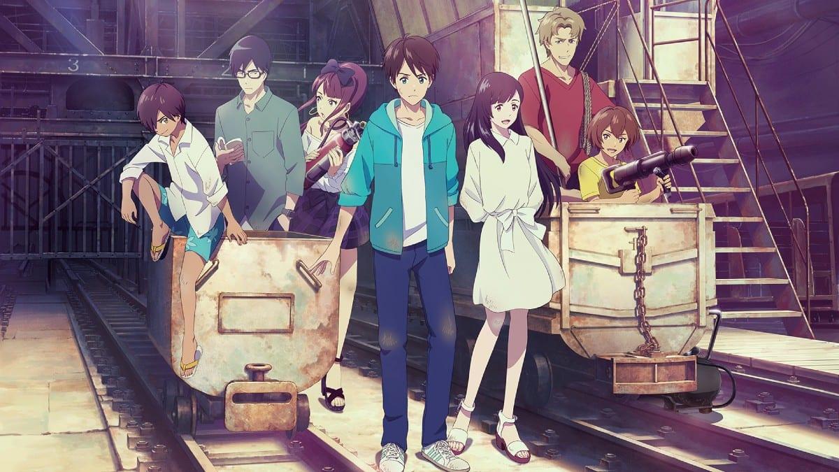 Seven Days War: l'anime è disponibile su Amazon Prime Video
