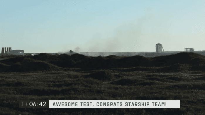 Starship High-Altitude Flight Test