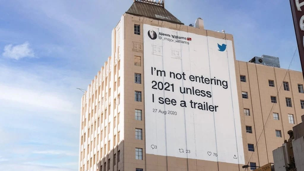 "Twitter saluta il 2020 con ""Tweeting through the pain"", la campagna con i migliori tweet"