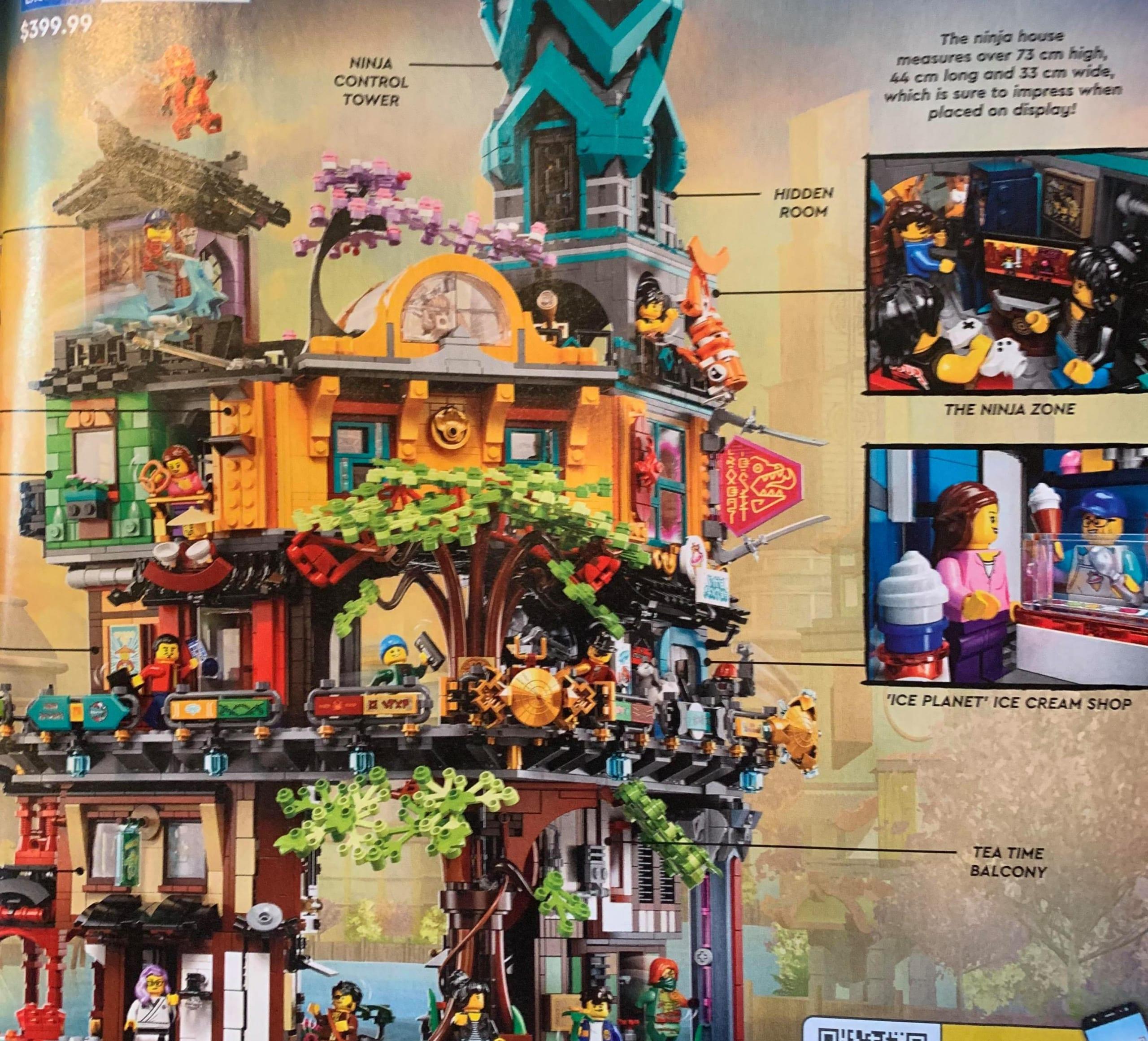LEGO Ninjago City Gardens, prime immagini del set 71741 in uscita nel 2021 [AGGIORNATO]